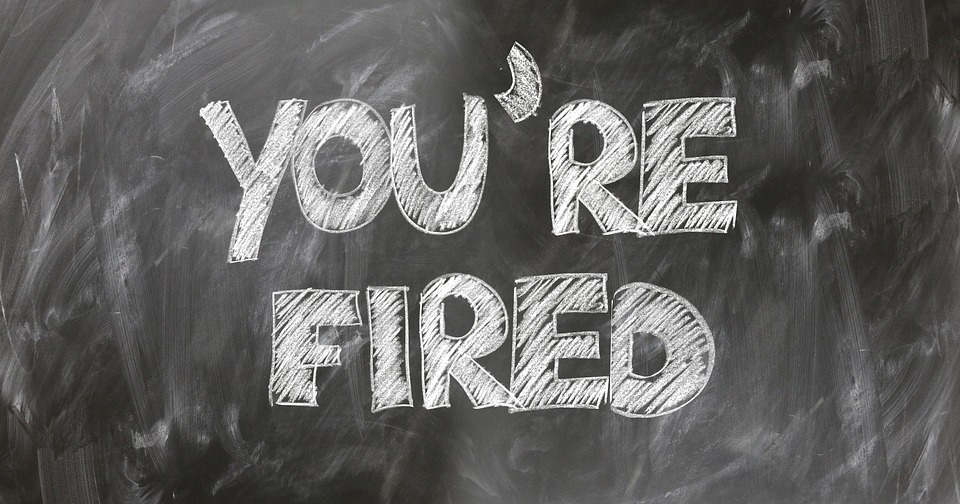 you are fired text